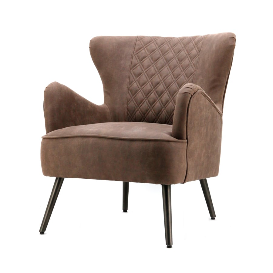 Taupe Kleurige Fauteuil.Eleonora Daisy Fauteuil Taupe Jeep Stof Yels Nl